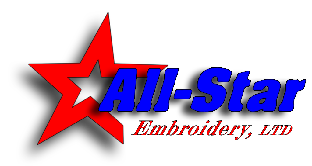 All-Star Embroidery Logo