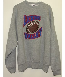 All-Star Embroidery Licking Valley Sweatshirt Front