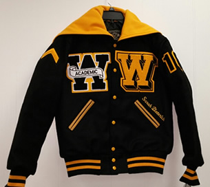 Watkins Varsity Jacket Front